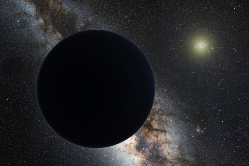 Page not found image. Artist's impression of Planet X.